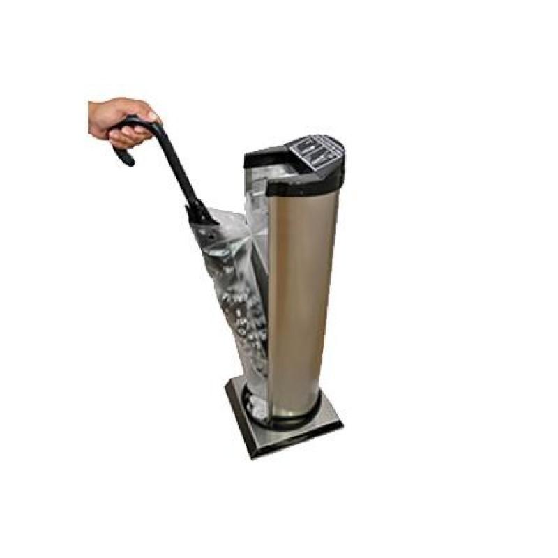 Embalador de guarda-chuva em aço inox