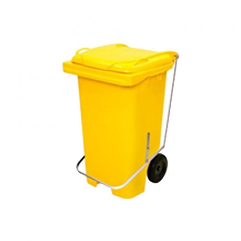 Container 120 litros com pedal