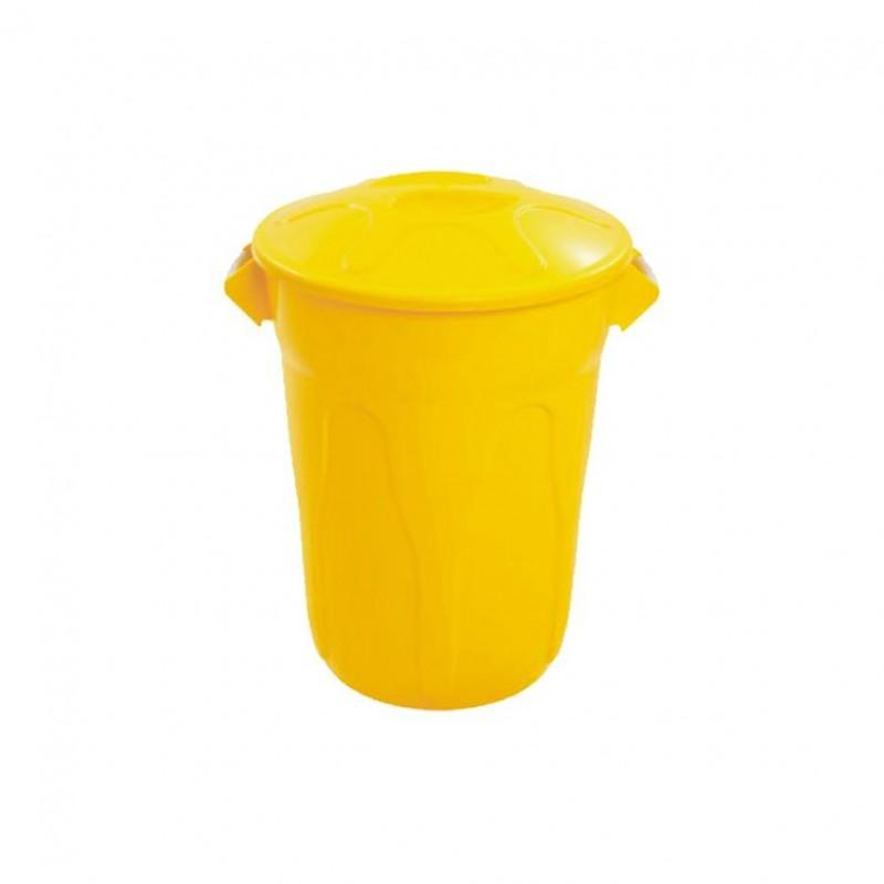 Lixeira 40 litros com tampa sobrepor