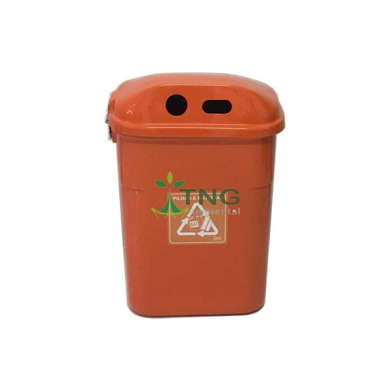 Coletor de pilhas 60 litros em fiberglass