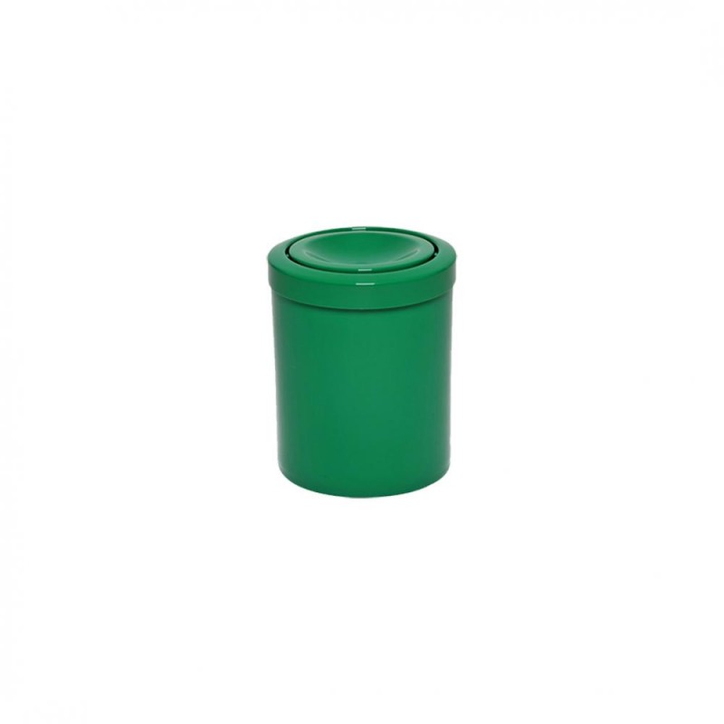 Lixeira 15 litros com tampa flip top