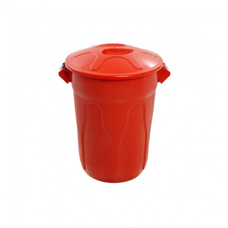 Lixeira 20 litros com tampa de sobrepor