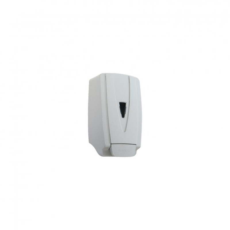 Dispenser em ABS com reservatório para sabonete líquido e álcool em gel