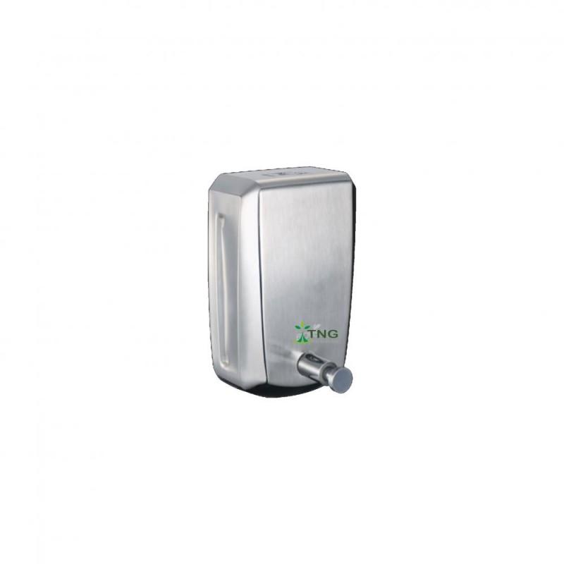 Dispenser em aço inox 304 para sabonete líquido e álcool em gel 800ml