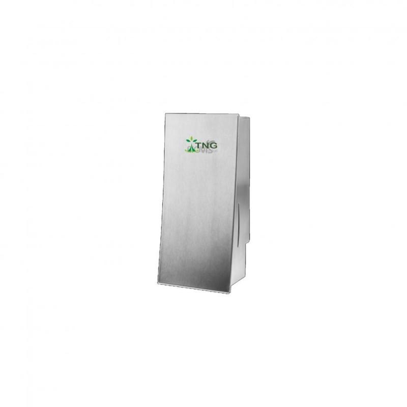 Dispenser em aço inox 304 para sabonete líquido e álcool em gel 800 ml