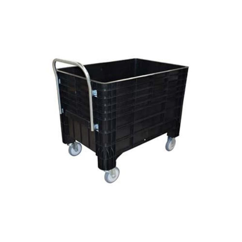 Carro caixa 370 litros sem tampa