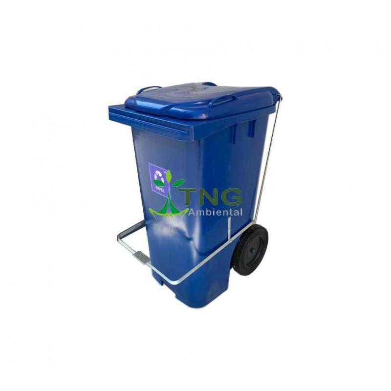 Container 240 litros com pedal